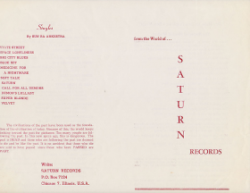 Sun Ra From the World of... Saturn Records (New Release Announcement)