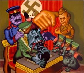 Peter Saul Hitler's Bunker