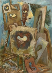 George Grosz The Painter of the Hole II