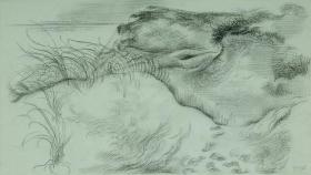 George Grosz Dunes Cape Cod