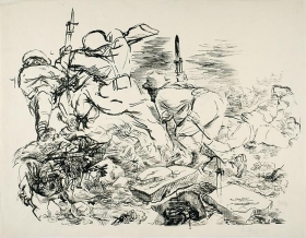 George Grosz Battle 2