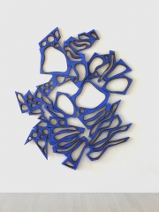 Mel Kendrick Blue Sprawl, 2015-16