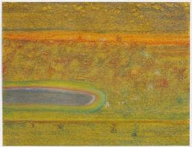 Richard Artschwager Landscape with Pond