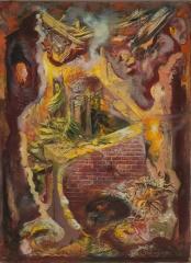 George Grosz(1893-1959) Retreat