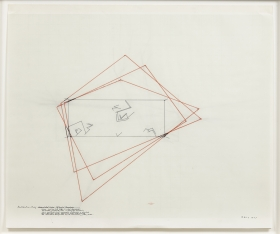 Installation Study: Accumulated Vision: Extended Boundaries, 1977