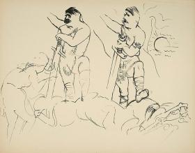 George Grosz Siegfried Hitler