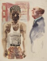 George Grosz(1893-1959) Downtown Manhattan