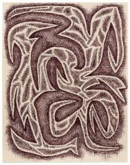 James Siena Angry Form