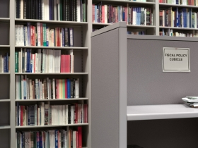 David Hartt Belvedere III: Fiscal Policy Cubicle at The Mackinac Center for Public Policy, Midland, Michigan