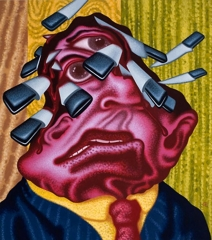 Peter Saul Stuck