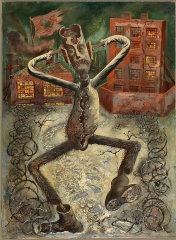 George Grosz The Grey Man Dances