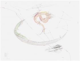 Jorinde Voigt Deutsches Dual II 2 Horizonte, Mögliche Farben des Horizonts, Position, Himmelsrichtung N-S, Externe Zentren, Territorium, Konstruktion, Dekonstruktion, Airport, Kontinentalgrenze, Rotationsrichtung, 1-16 Umdrehungen/Stunde