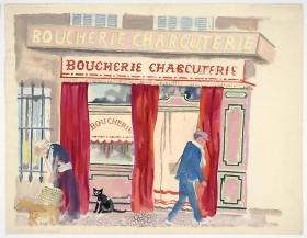George Grosz Boucherie