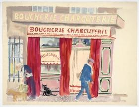 George Grosz Boucherie