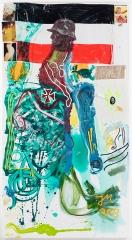"Jonathan Meese DR. LUFTBALLON (DU WARST MAL MOOMIN) D'AMOUR ""INBETWEENIE"", 2013"
