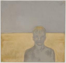 Richard Artschwager Gray Portrait