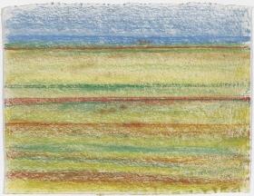 Richard Artschwager Striped Landscape