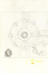 Sun Ra Design for The Soul Vibrations of Man (album cover)