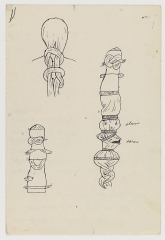 Christina Ramberg Untitled (Knotted Fabric)