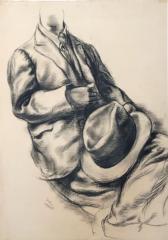 George Grosz(1893-1959) Dummy with Hat