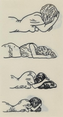 Christina Ramberg Untitled (Four Figures)