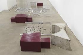 Installation Image:, Barry Le Va: Silent Readings