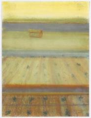 Richard Artschwager Vertical Landscape with House