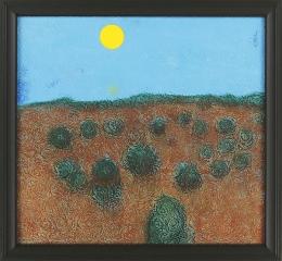 Richard Artschwager Landscape with Rosettes