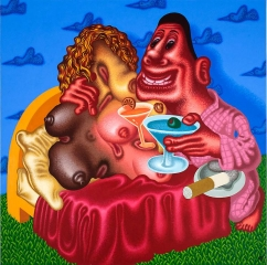 Peter Saul Viva la Difference