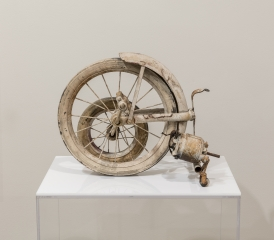 Jean Tinguely (1925-1991) 'Wheels' fragment, 1960