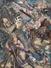 George Grosz God of War