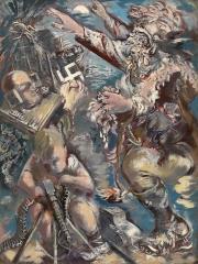 George Grosz God of War