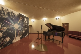 Installation view,The Histories (Le Mancenillier), Beth Sholom Synagogue, Philadelphia, September 11 - December 19, 2019