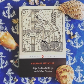 Duke Riley designs Herman Melville cover for Penguin
