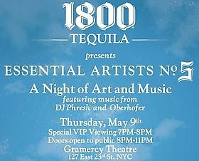 1800 Tequila Essential Artists No. 5