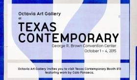 Octavia Art Gallery at the Texas Contemporary Art Fair