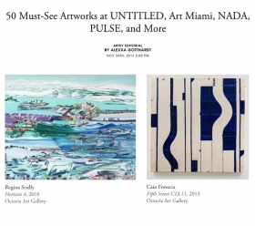 50 Must-See Artworks at UNTITLED, Art Miami, NADA, PULSE, and More