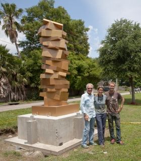 New Scuptures on Display in Kenner