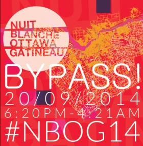 "CHERYL PAGUREK PRESENTS ""NAVIGATE"" INSTALLATION AS PART OF NUIT BLANCHE OTTAWA+GATINEAU"