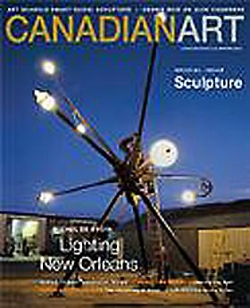 ANDREW MORROW FEATURED IN THE WINTER ISSUE OF CANADIAN ART MAGAZINE