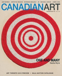 "CANADIAN ART MAGAZINE PICKS SARA ANGELUCCI AS THEIR ""MUST SEE"" OF THE WEEK"