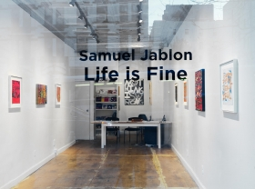 Samuel Jablon on ArtDaily News