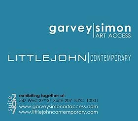 Garvey Simon Art Access and Littlejohn Contemporary collaboration featured in  ArtDaily On-line Newspaper.