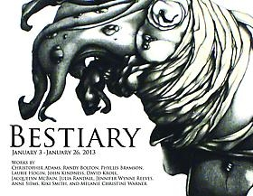 Bestiary Opening Reception caught on VIDEO