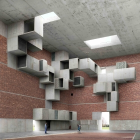 At Cristin Tierney, Filip Dujardin Constructs Brutalist Playgrounds for the Eye