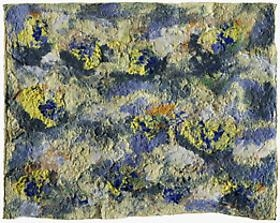 Joan Snyder: Paper Pulp Paintings