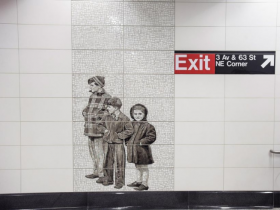 New York MTA Unveils Second Avenue Subway Art Installations