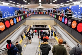 Nearly 100 years later, the Second Avenue Subway officially opens!