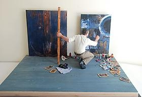 Inside the Artists' Studios: Small-Scale Views