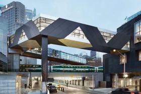 SFC Bridge by Jennifer Marman, Daniel Borins, and James Khamsi Wins Architizer's Popular Choice A+ Award for Highways and Bridges